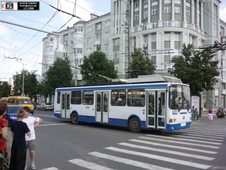 Троллейбус ЛиАз